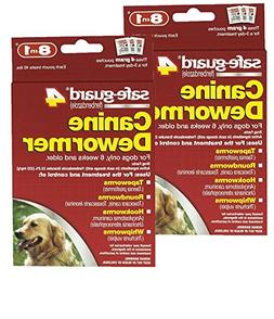 8 in 1 Safe Guard Canine Dewormer for Large Dogs, 4-Gram- 2