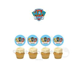 12 paw patrol pups girl boy cupcake