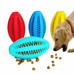 1PCS Rubber Ball Chew Treat Food Dispensing Holder Pet Dog P