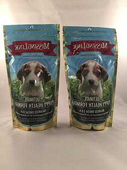 2 Pack - Missing Link 8-Ounce Puppy Health Formula - Puppy F