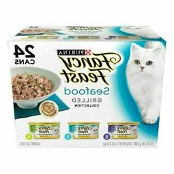 24 Cans X 3 Oz Cat Dog Pet Puppy Nutrition Wet Food Variety