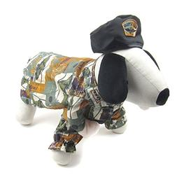 Alfie Pet by Petoga Couture - Ryan Army Uniform Costume with