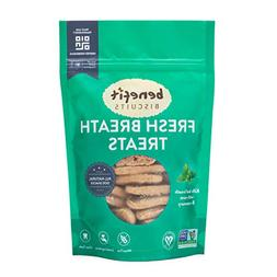 Benefit Biscuits - Fresh Mint Dog Biscuits - Healthy All Nat