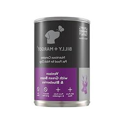 Billy + Margot 60% Venison Complete Wet Food for Dogs 395g
