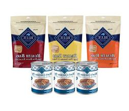 Blue Dog Food and Treats-6 Pack Variety Bundle Moms Chicken