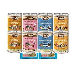 Merrick Grain Free Dog Food-Canned Variety Pack 4 Flavors 8