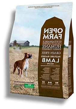 Open Farm Pasture-Raised Lamb Grain-Free Dry Dog Food 4.5 po