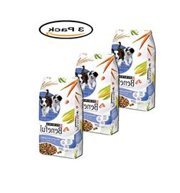 PACK OF 3 - Purina Beneful Healthy Puppy Dog Food 15.5 lb. B