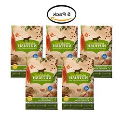 PACK OF 5 - Rachael Ray Nutrish Natural Dry Dog Food, Real C