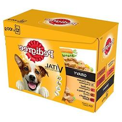 Pedigree Pouch Meat Selection in Gravy 12 x 100g