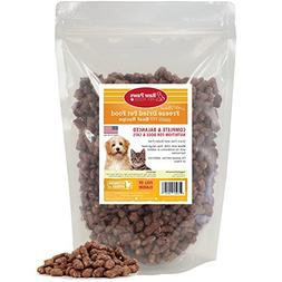 Raw Paws Pet Premium Raw Freeze Dried Dog Food & Cat Food, 1