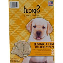 Sprout Milk Flavored Canine Puppy Biscuit Treat - with Chick
