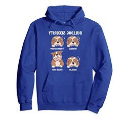 Unisex English Bulldog Security Funny Guard Dog Humor Hoodie