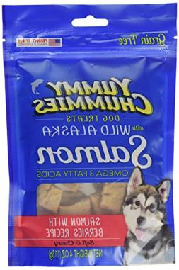 Yummy Chummies Arctic Paws Salmon with Berries Dog Treat, 4