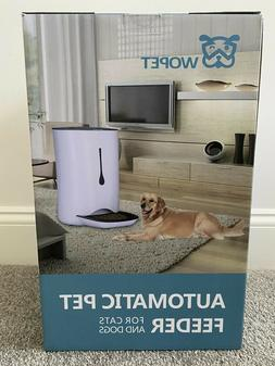 Automatic Feeder Feed Food Water Dog Cat Pet Large Auto Cont