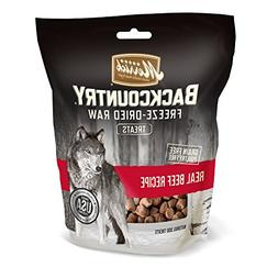Merrick Backcountry Freeze-Dried Raw Treats Real Beef