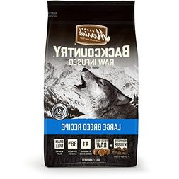 Merrick Backcountry Grain Free Large Breed Dry Dog Food, 22