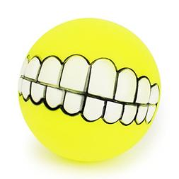 Toy Ball for Dogs - Dental Treat, Bite Resistant, Indestruct