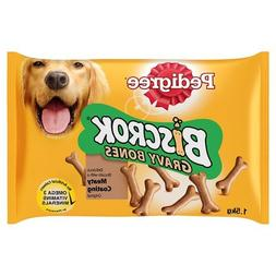 Pedigree Biscrok Gravy Bones Dog Biscuits 1.5kg