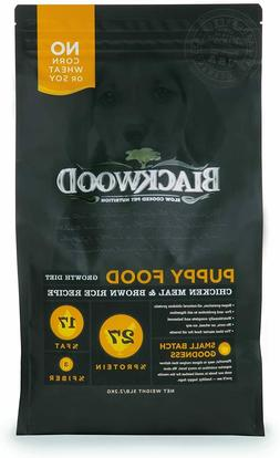 Blackwood Pet Puppy Food Growth Diet Made in USA [Natural Pu