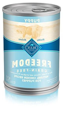 Blue Buffalo Freedom Canned Puppy Food Chicken Dinner - 12-