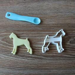 Boxer Cookie Cutter Dog Doggie Pup Pet Treat Puppy Pupcake t