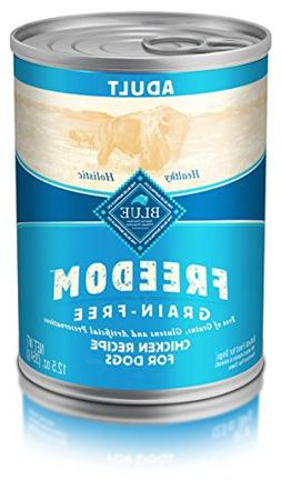 Blue Freedom Adult Grain Free Chicken Wet Dog Food 12.5Oz