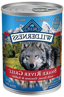 Blue Buffalo Wilderness Snake River Grill High Protein Grain