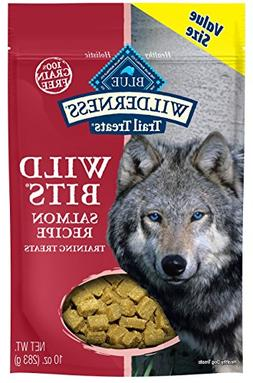 Blue Buffalo Wilderness Trail Treats Salmon Wild Bits Grain-