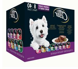 Cesar Canine Cuisine Wet Dog Food, Variety Pack