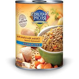 Nature's Recipe Canned Dog Food for Adult Dog, Easy to Diges