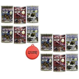 Taste of the Wild Canned Dog Food Variety Bundle - 12 Pack