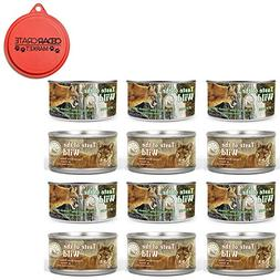 Taste of the Wild Cat Food Variety Pack with Can Topper - 3