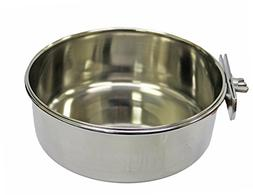 Fuzzy Puppy Pet Products CCCH-20 Coop Cup Pet Bowl with Clam