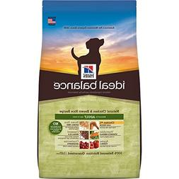 Hill'S Ideal Balance Adult Natural Dog Food, Chicken & Brown