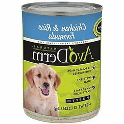 AvoDerm Natural Chicken Meal and Brown Rice Formula Puppy Fo