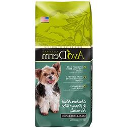 AvoDerm Natural Small Breed Adult Dry Dog Food, Chicken Meal