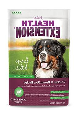 Health Extension Large Bites Chicken & Brown Rice, 30-pounds