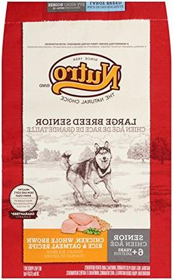 NUTRO NATURAL CHOICE Large Breed Senior Dog Food Chicken, Wh
