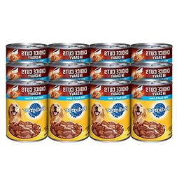 PEDIGREE CHOICE CUTS in Gravy With Beef and Liver Canned Dog