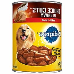 Pedigree Choice CUTS in Gravy Adult Canned Wet Dog Food, 22
