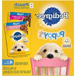 Pedigree Choice CUTS Puppy Morsels in Sauce Wet Dog Food Var