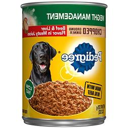 Pedigree Chopped Ground Dinner Weight Management With Beef &