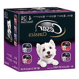 CESAR CANINE CUISINE Wet Dog Food Beef, Filet Mignon, Grille