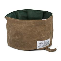 Timber and Tide Collapsible Dog Bowl - Rugged Heavy Duty Can