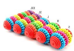 winwinzx Colorful Ring Toy For Dogs and Cats Puppies - Top C