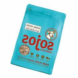 Sojos Complete Natural Raw Freeze Dried Dog Food Mix, Turkey
