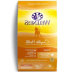 Wellness Complete Health Natural Dry Puppy Food, Chicken, Sa