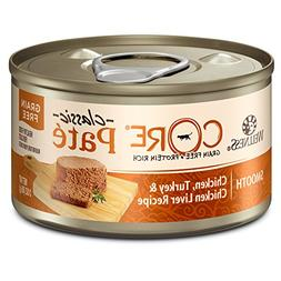 Wellness CORE Natural Grain Free Wet Canned Cat Food, Chicke