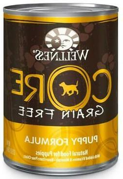 Wellness Core Natural Grain Free Wet Canned Puppy Food, Turk